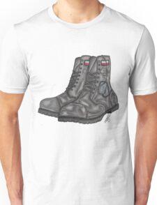 Polish MIA Boots Unisex T-Shirt