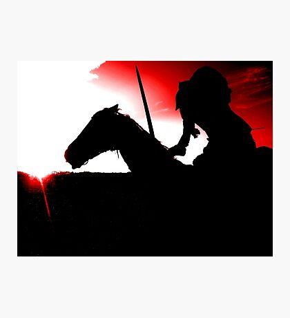 Headless - Red Photographic Print