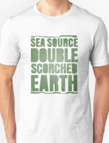 Sea Source, Double Scorched Earth Unisex T-Shirt