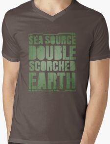 Sea Source, Double Scorched Earth Mens V-Neck T-Shirt