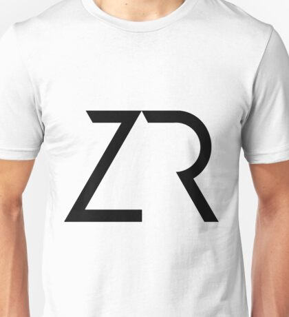 ZR in Black Unisex T-Shirt