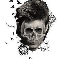 Supernatural-Skull Dean by Revellion