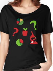 Science is fun Pattern Women's Relaxed Fit T-Shirt