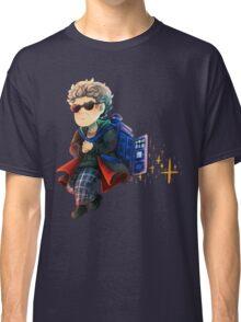 Doctor Who - Star powered TARDIS jetpack Classic T-Shirt