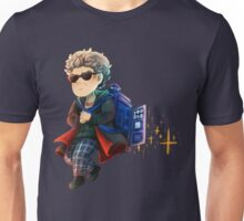 Doctor Who - Star powered TARDIS jetpack Unisex T-Shirt