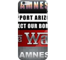 Protect Our Borders iPhone Case/Skin