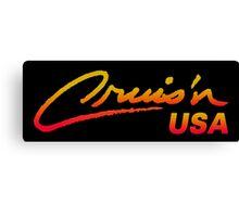 CRUIS´N USA RACING ARCADE  Canvas Print