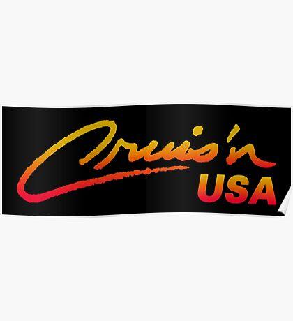 CRUIS´N USA RACING ARCADE  Poster