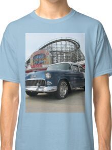 A Cool Classic Car And A Coaster Classic T-Shirt