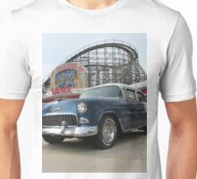 A Cool Classic Car And A Coaster Unisex T-Shirt