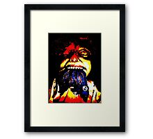 Look What the Cat Dragged In Framed Print