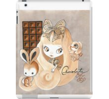 Chocolate And Bunny Dreams iPad Case/Skin
