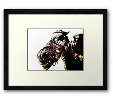 The Dead Horse Framed Print