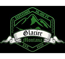 Glacier National Park, Montana Photographic Print