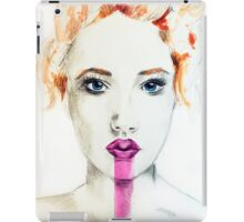 The Lies I've Told Mixed Media Painting iPad Case/Skin