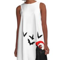 Count Eyeball A-Line Dress