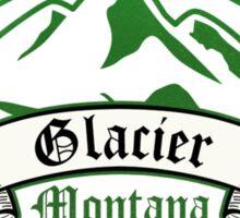 Glacier National Park, Montana Sticker