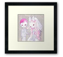 Wedding Bliss Framed Print