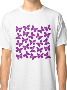 Butterfly Words Classic T-Shirt