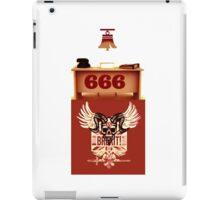 RING 666 iPad Case/Skin