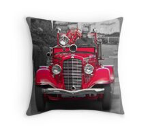 Alcatraz Fire Truck Throw Pillow