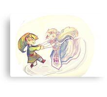 Spin the Ghost Princess (Legend of Zelda: Spirit Tracks) Canvas Print