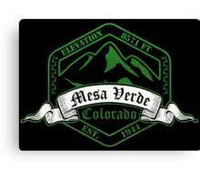 Mesa Verde National Park, Colorado Canvas Print