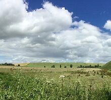Silbury Hill by Aakheperure