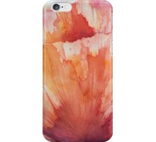 Poppy Red iPhone Case/Skin