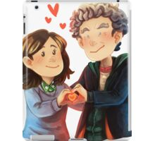Doctor Who - Whouffaldi Heart iPad Case/Skin