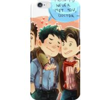 Doctor Who - Jack and the Doctors iPhone Case/Skin