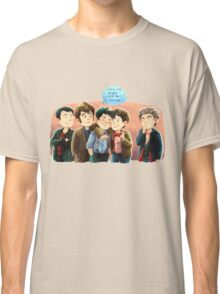 Doctor Who - Jack and the Doctors Classic T-Shirt