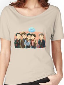 Doctor Who - Jack and the Doctors Women's Relaxed Fit T-Shirt