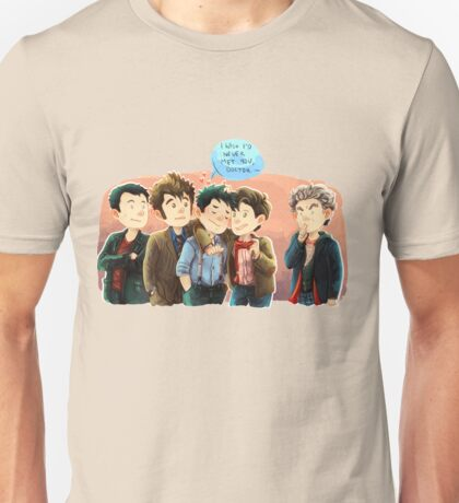 Doctor Who - Jack and the Doctors Unisex T-Shirt
