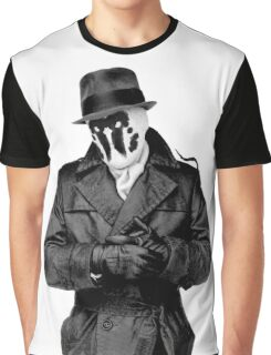 watchmen Rorschach Graphic T-Shirt