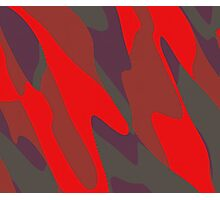 red purple and gray abstract Photographic Print