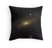 Andromeda Galaxy Throw Pillow