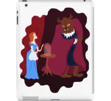 Beauty and beast iPad Case/Skin
