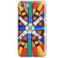 Colorful Starburst iPhone Case/Skin