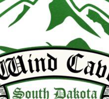 Wind Cave National Park, South Dakota Sticker