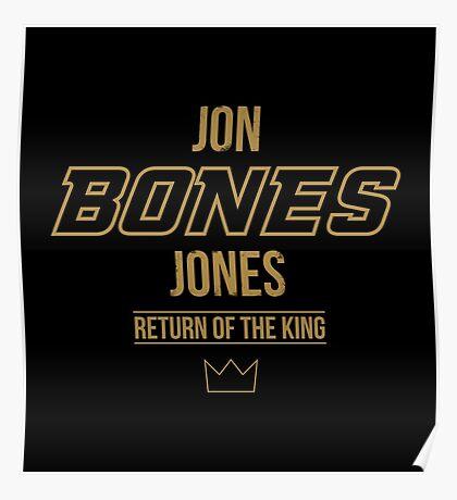 Jon 'Bones' Jones | Gold Poster