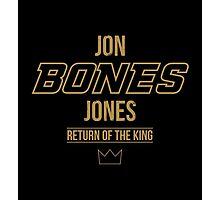 Jon 'Bones' Jones | Gold Photographic Print