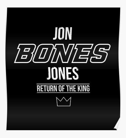 Jon 'Bones' Jones | White Poster