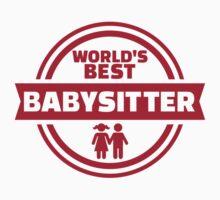World's best babysitter One Piece - Short Sleeve