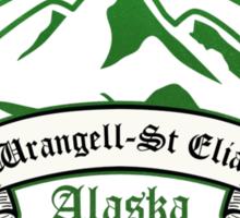 Wrangell–St. Elias National Park, Alaska Sticker