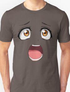 Anime face brown eyes T-Shirt