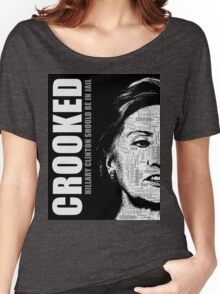 Crooked Hillary Clinton Women's Relaxed Fit T-Shirt