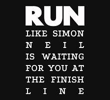 RUN - Simon Neil 2 Mens V-Neck T-Shirt