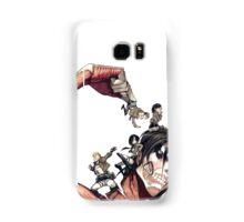 manga l'attaque des titans Samsung Galaxy Case/Skin