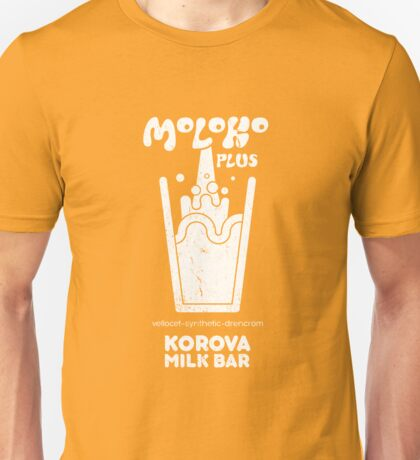Moloko Plus - A Clockwork Orange Unisex T-Shirt